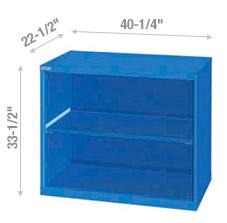 Cabinets tablette de rangement 40″