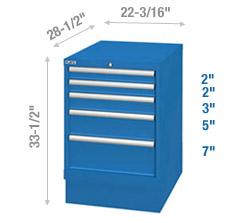 Cabinet de rangement – Hauteur Banc