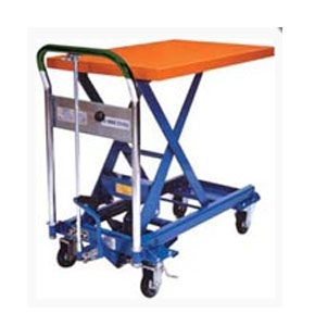 Manuel scissor lift table