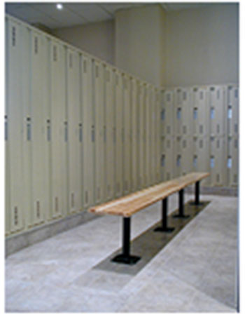 Locker bench