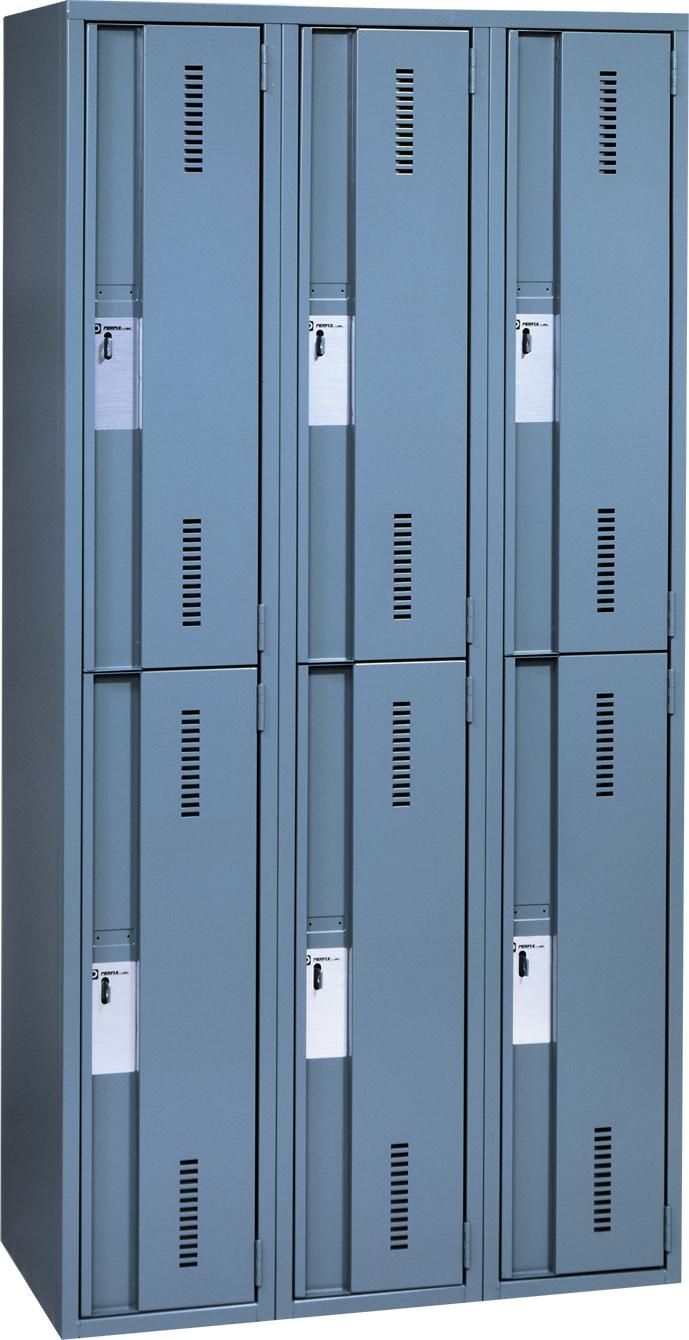 Lockers with 2 doors height